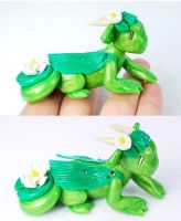 Water Lily Dragon by HowManyDragons