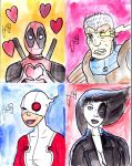 Sketchcards - Deadpool Universe by FG-Arcadia