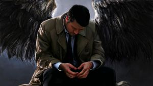 Castiel, Angel of Thursday by RussianVal
