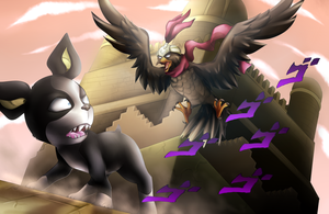 Iggy vs Pet Shop + Speedpaint by Scarlet-Spectrum