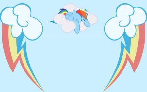 Rainbow Dash Wallpaper by Robintheduck