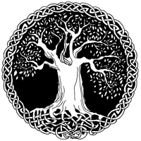Celtic Wisdom Tree By TheeIceFaerie
