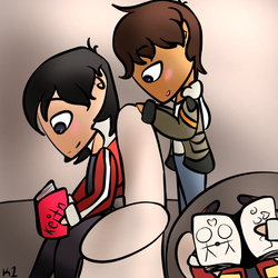 Our Little Spy (Klance Voltron) by K1ance