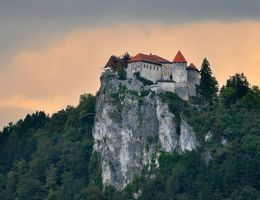 Bled Castle by nordfold