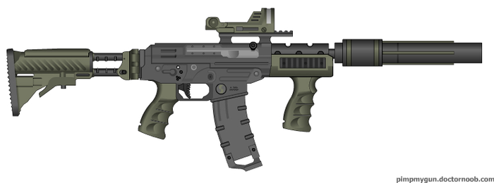 SPW 'Operator' SIG 556 by Robbe25