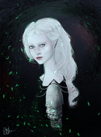 White elf by Gejda