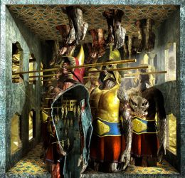 Ecce Homo 126 - IMMORTALS by Polygonist