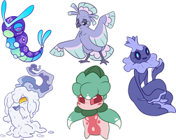 Betsumon - Rejected Batch Adoptables | OPEN by KilaTheKitty1