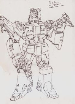 Masterpiece/Ultimate Topspin by UnicronHound