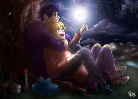 Free! - Under the stars by KGxspace