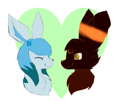 You Be The Moon I'll Be The Earth by Shadow--Flareon