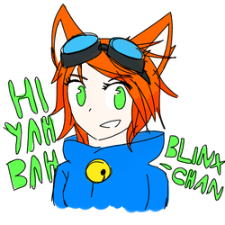 Blinx-chan by catgirl140