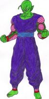 Barefoot Piccolo Jr. by DBZ2010