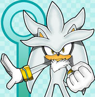silver the hedgehog channel by daggerslashs