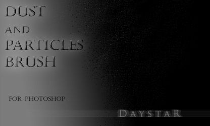 Dust and particles brush set by Muse-of-Stock