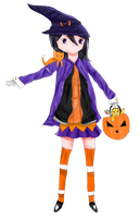 Halloween Rukia! by flashsteps