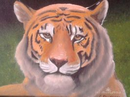 Tiger Painting by FireWolfWitch