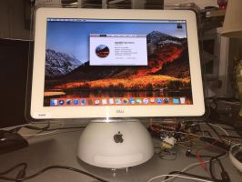 iMac G4 Project: macOS Installed by MacThePlaneh