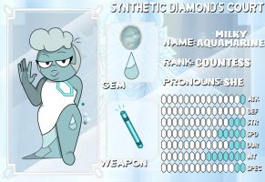 Milky Aquamarine by unknown-diary