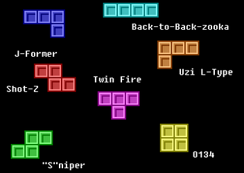 Transforming Tetromino Firearms by Four-Cubed