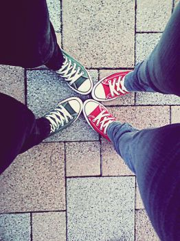 our converse by xscreamxsilencex