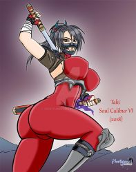 Sketch: Taki back in Soul Calibur VI by Noriyuki83