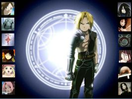 Full Metal Alchemist wallpaper by Smashspite