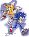 Sonic and Tails by Bricus27