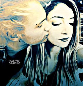 Michael Clifford and Chrissy Costanza [Manip] by DaisyChan55