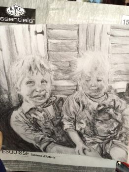 A graphite rendering of a photo I found online by kyndy101