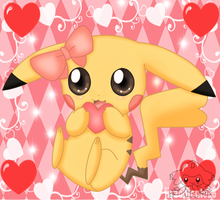sweet Pikachu by jirachicute28