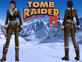 Tomb Raider 2: Tibet Outfit: v2 by lady-zomkie