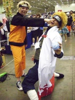 OTAKON 2009: Father-Son Moment by InkkyFikky