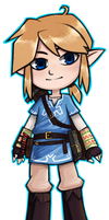 link  by Breath of the Wild by sheinarton