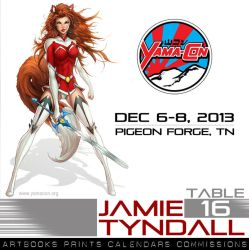 Yama-Con 2013 - Table 16 by jamietyndall