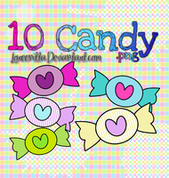 Candys .png by Loreenitta