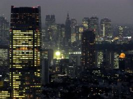 STOCK TOKYO NIGHT VIEW JAPAN NO:010060004 by hirolus