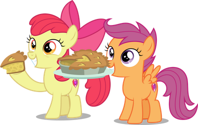 Vector #920 - Want Some Pie? by DashieSparkle