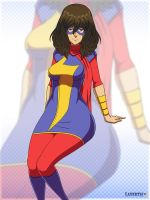 Ms. Marvel by Layerth