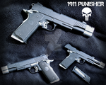 Colt 1911 Punisher Co2
