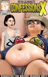 Fat pregnant belly huge boobs by plumptopia