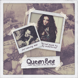 QUEEN BEE | psd coloring #02 by Indieternal