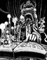 The Lich's Chamber by nobody-is-driving