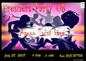 Freshers' Party Invite 2008 by msahluwalia