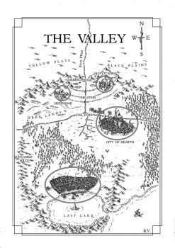 Commission 2017: the Valley by Traditionalmaps