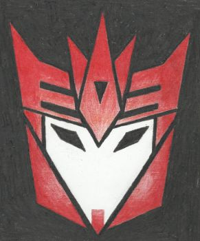 Decepticon insignia - Knockout (TFP) by LadyIronhide