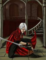 Dante Devil May Cry 4 by kzeor