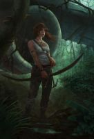 Tomb Raider Reborn Contest by KlausPillon