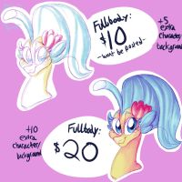 New Commission Type Limited Slots! by IhasJessie-Kat