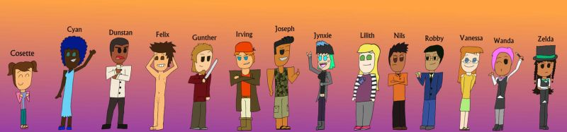 Total Drama: Virtual Party by Asujoll